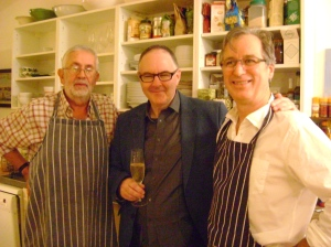 Grouse Dinner, cooked for me by fellow chefs and good friends, Stephen Markwick & Barny Haughton, October 12th 2013