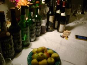 Grouse Dinner wines