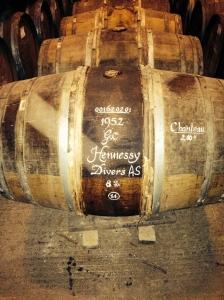 1952 cognac @ Hennessy